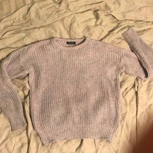 American apparel confetti fisherman's pullover